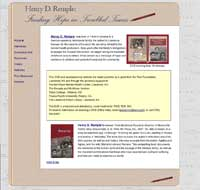 Remple Book site home page